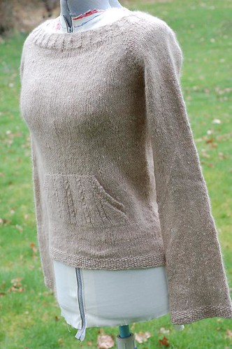 Handspun Wicked Sweater