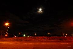 runcorn night sky with moon (patart00) Tags: moon night clouds runcorn