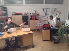 Die Nachbereitung der Öffentlichen Buchausgabe durch Fabian Topfstedt und Andreas Hafenscher
