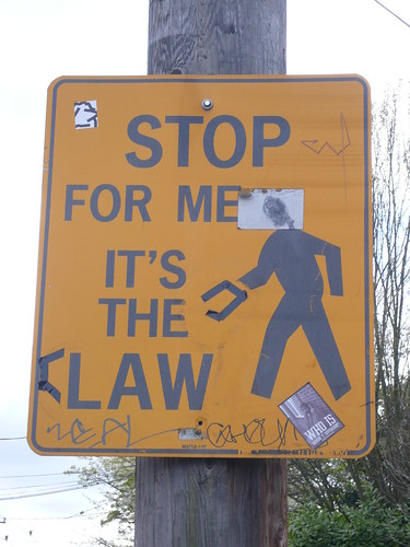 Stop For Me, It's the Claw!