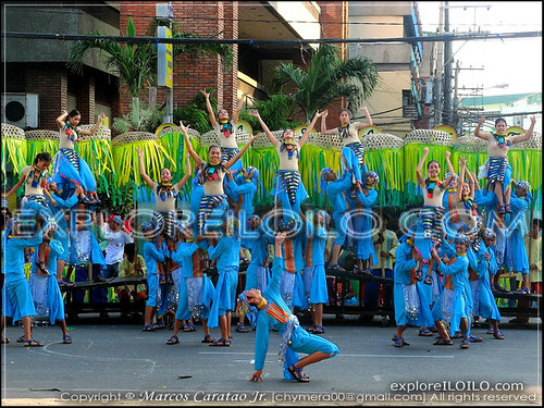 Kasag Festival of Banate during the Pasundayag of Festivals