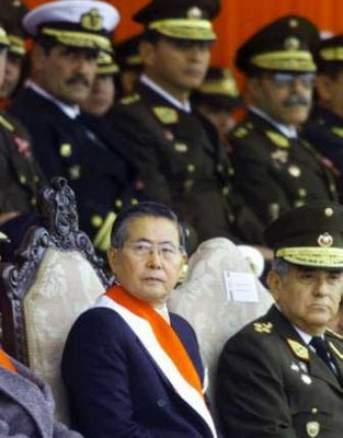 Fujimori y militares
