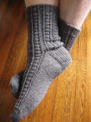 Matt's Retro Rib Socks