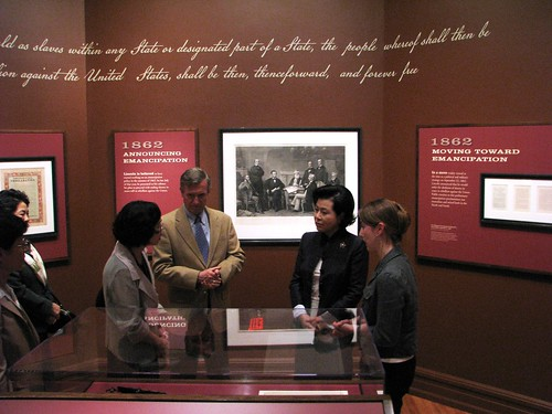 The First Lady of South Korea Visits President Lincoln's Cottage.