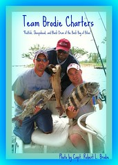 Biloxi, Mississippi Charter Boat Fishing - Jay Mayfield (L), Doug Ayers (C), and Bryan Thornton (R) Posing With A Few Of The Fish Caught While Fishing Aboard TEAM BRODIE CHARTERS - Photo By Capt. Robert L. Brodie of TEAM BRODIE CHARTERS (teambrodiecharters) Tags: red fish beautiful fishing fishermen redfish clients customers anglers sheepshead blackdrum charterboat spottail guideservice bottomfishing inshorefishing lighttackle beautifulfish dougayers backbayofbiloxi bayfishing guidedfishing teambrodiecharters charterclients lighttacklefishing jaymayfield bryanthornton fishingclients