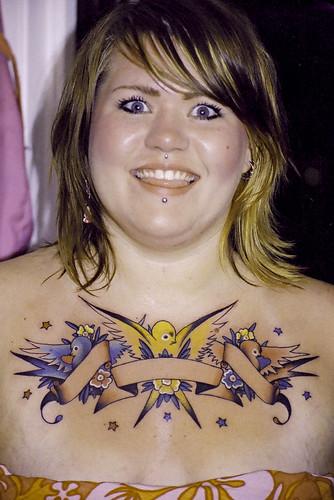 tattoos chest. Tattoo chest-girl