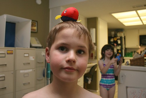 Jamies Got A Whale On His Head