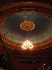 Ceiling, American Airlines Theatre NYC by Monceau, on Flickr