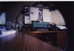 Pinhole of my office