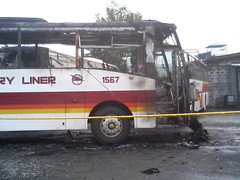 VLI 1567 torched by 10 armed Men (MrRoadTrip_818) Tags: victory liner