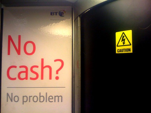 No Cash? No Problem. Caution!