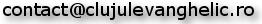 Adresa mail Clujul Evanghelic