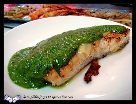 080120淡水名廚鐵板燒09_醬汁鮮魚