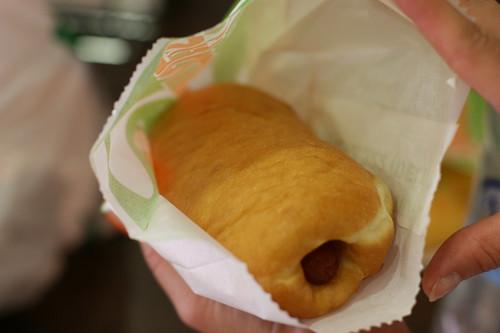 Hot Dog Donut