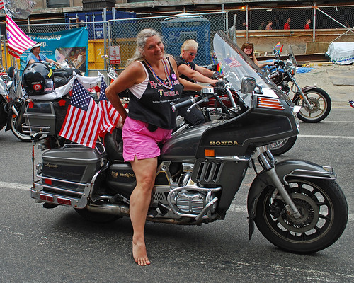 east coast biker chicks