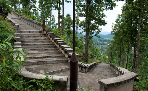 Staircase in Mae Hong Son