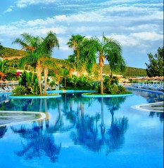 Time to jump into pool... (Nejdet Duzen) Tags: holiday pool turkey hotel trkiye soe bodrum tatil havuz turkei abigfave top20travel theunforgettablepictures goldstaraward qualitypixels flickrlovers majestybelizia