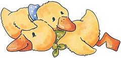 Patinhos (Lucia Helena Cesar) Tags: duck pato bebe riscos moldes aplicaes enxoval patchcolagem