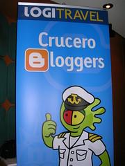 Logi nos acompañó durante el crucero