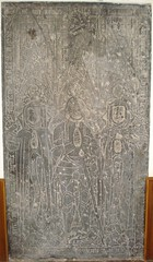 ca. 1479 - 'Arno(u)ld de Corswarem (+1479), Jeanne de Jauche (+1449) and Marie de Warous (+1454)', Église Saint-Victor, Corswarem, Berloz, province of Liège, Belgium (roelipilami (Roel Renmans)) Tags: 1479 arnold arnould arnaut arnout de van corwarem corswerme église saintvictor st victor kerk church kirche viktor berloz liège luik provincie province lüttich belgium belgien belgië belgique armour wapenrusting armure rüstung monument grafzerk grafplaat grafsteen dalle funéraire grabplatte grabmal incised slab gravestone gothic gotique gotisch 15e eeuw 15th century 15 jahrhundert siècle jeanne jauche 1449 marie warous 1454 ghette