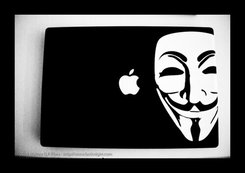 Guy Fawkes MacBook