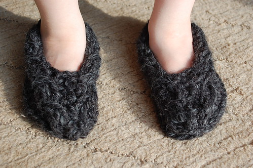 Some cute little slippers! So fast.