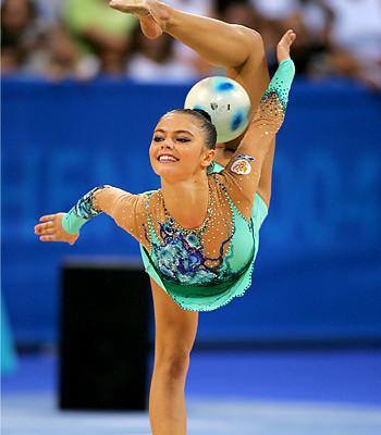 Russian Rhythmic Gymnast and member of Russian Parliament Alina Kabaeva