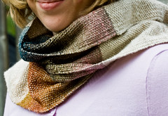 Silk Stripes Scarf (LollyKnit) Tags: scarf woven weaving noro handowoven silkstripesscarf