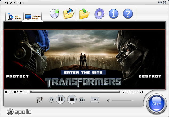 1 DVD Audio Ripper - отличная программа, служащая для копирования