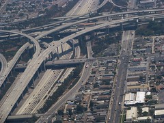 South Central LA (Dan_DC) Tags: california urban la losangeles stock 110 ramps license 105 sprawl flyover freeways rf southcentral interchange imagebank harborfreeway royaltyfree urbanscene flatfee concreteribbon