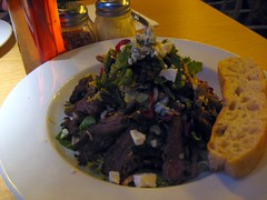 steak salad @Pitfire Pizza