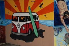 DSC_0841 (Kurt Christensen) Tags: art beach painting mural surf thrust gilgobeach gilgo