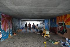 DSC_0861 (Kurt Christensen) Tags: art beach painting mural surf thrust gilgobeach gilgo