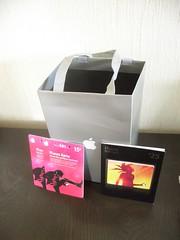 Geschenktüte von Apple mit iTunes-Karten