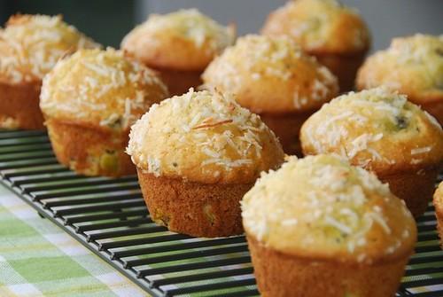 kiwi muffins rack