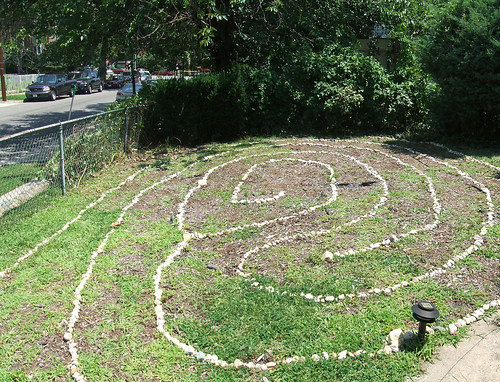 Labyrinth after 4 hours of work