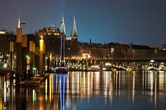 Bremen Riverside (jver64) Tags: night nacht bremen weser schlachte canon40d