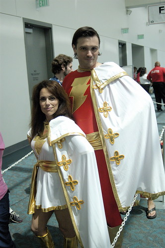 Comic Con 2008: Captain & Mary Marvel