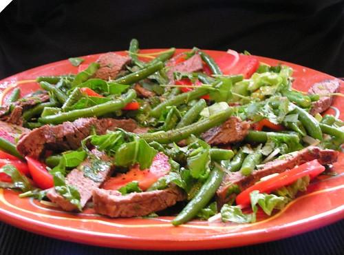pittige salade voor warm weer 016