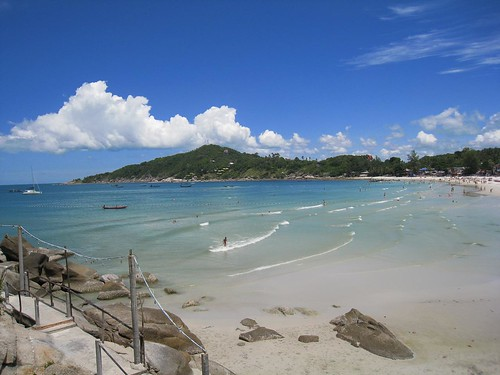 Gorgeous weather - Haad Rin, Koh Phangan