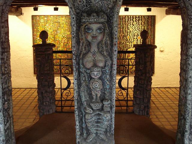 robert tatin museum, laval, france