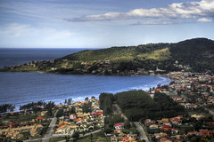 Bahia de Garopaba (R'eyes) Tags: sky azul mar paisagem cu garopaba