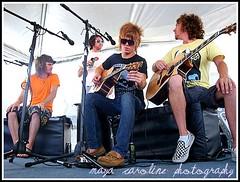 Forever The Sickest Kids Acoustic (maya caroline photography) Tags: park st set kids austin tour jonathan cook petersburg myspace warped tent stewart marc acoustic forever caleb 2008 prepping vinoy sickest bello turman