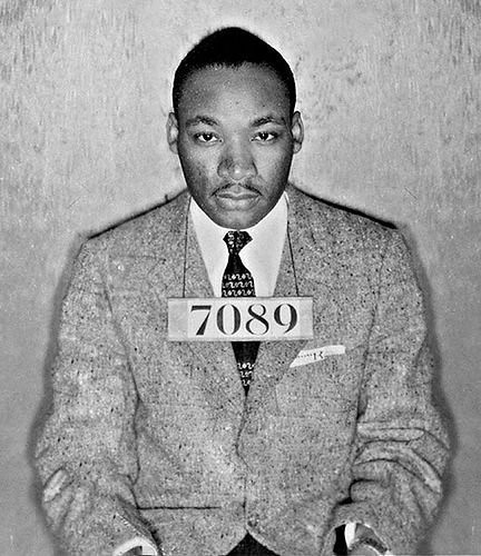 Martin Luther King - Arrested
