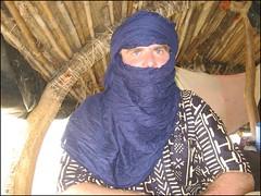 Taureg Tim (Tim Little) Tags: trip travel selfportrait me boat desert journey mali timbuktu timbuctou timbuktoo