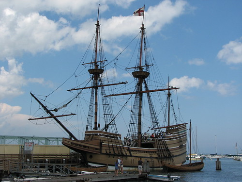 Mayflower in Plymouth, MA