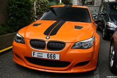BMW Lumma CLR500 RS (maikeldenneijsel) Tags: auto england orange black slr cars love canon photography eos rebel hotel photo dubai driving colours britain united great clr kingdom automotive harrods f bmw 28 manual 500 sheraton edition rs m5 av londen combo lumma parktower 17mm 722 xti 400d clr500rs
