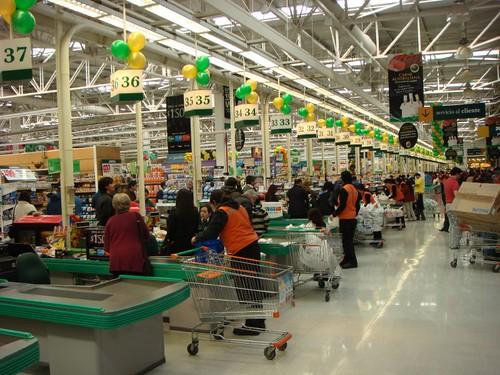 El Jumbo Supermercado, Peñalolen, Santiago, Chile