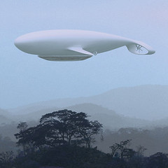 Jean-Marie Massaud - Manned Cloud Concept Art (lazzo51) Tags: aviation science blimps airships zeppelins luftschiff dirigibles onera jeanmariemassaud bdsq