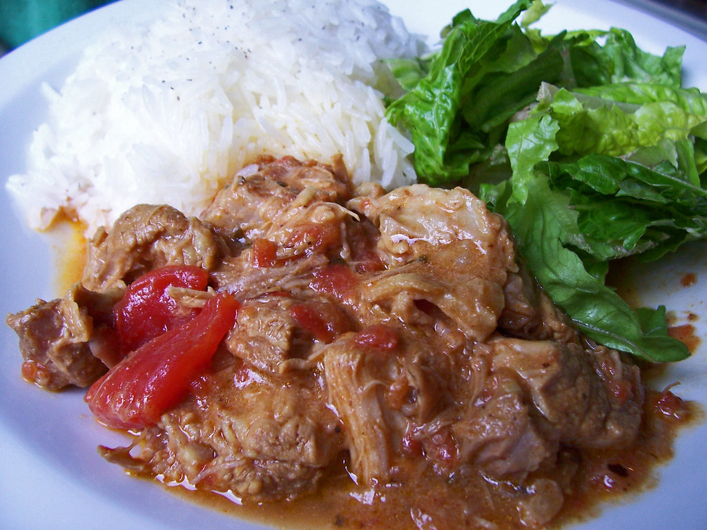 Indian Curried Pork